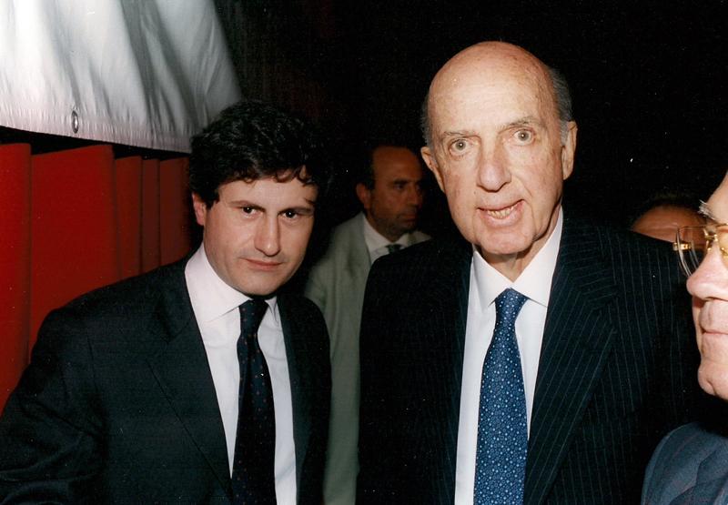 Ruspoli con Gianni Alemanno allora Ministro dell'Agricoltura ad un convegno dei CENTRI DI AZIONE AGRARIA