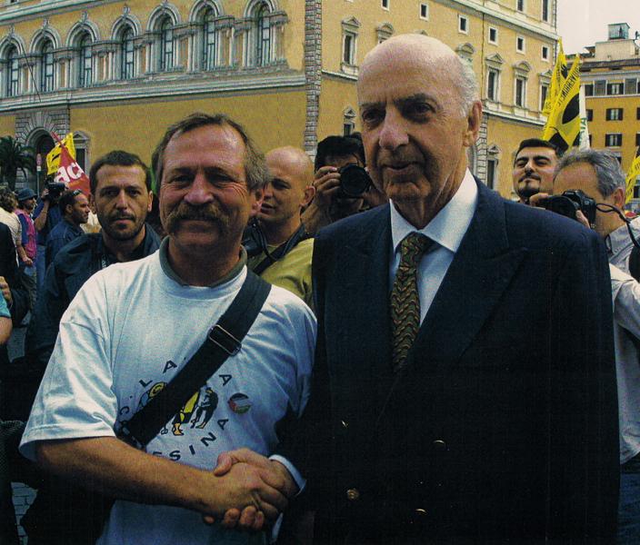 """Ruspoli sfila con Bovè alla testa dei """"no global"""""""