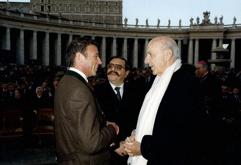Ruspoli con Haider a San Pietro