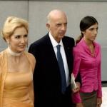 Ruspoli al matrimonio di Emanuele Filiberto di Savoia con la moglie Maria Pia e la figlia Giacinta.