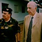 Ruspoli col Generale Prato nel campo profughi del Kossovo di Crotone