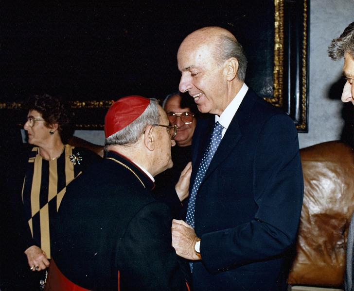 Ruspoli con il cardinale Silvio Oddi