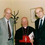 Ruspoli con Otto d'Asburgo e il cardinale Alfonso Maria Stickler